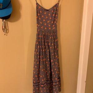 FREE PEOPLE NWOT MIDI DRESS- NEVER WORN